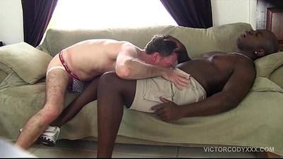 bareback  black gay  breeding