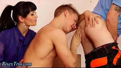 ambisexual  anal  blowjob