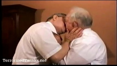 couple  gay sex  old and young